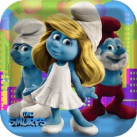 Smurfs - Plates (3 available)