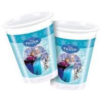 frozen ice skating plastic cups 200ml