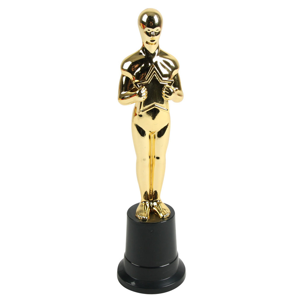 the movies oscar award statue parties4africa party supplies. Black Bedroom Furniture Sets. Home Design Ideas
